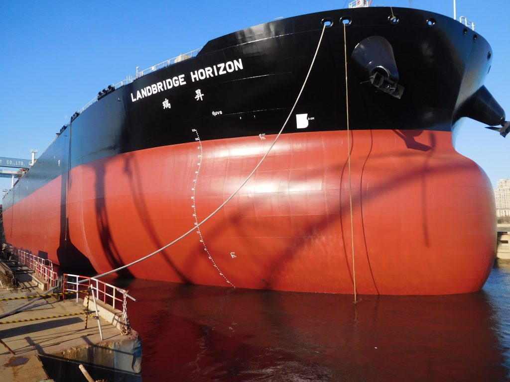 Luanching of 308k dwt VLCC - Schulte Marine Concept